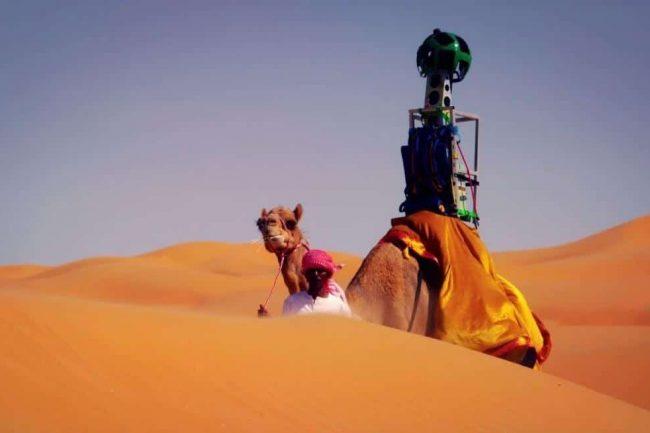 prêt de caméra Street View